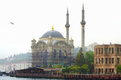 Istanbul asian side mosque Royalty Free Stock Image