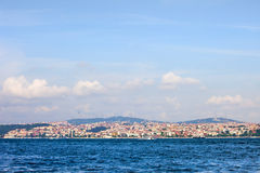 Istanbul Asian Side Skyline Royalty Free Stock Images