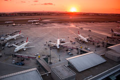 Istanbul Ataturk Airport Royalty Free Stock Photography