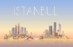 Istanbul Auch im corel abgehobenen Betrag Lizenzfreie Stockbilder