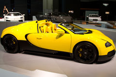 Istanbul Autoshow 2012 Stock Image