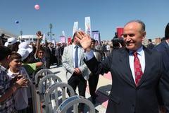 Istanbul-Bürgermeister Kadir Topbas Stockbild