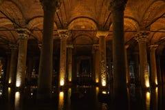 Istanbul, Basilica Cistern Stock Photos