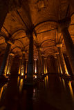Istanbul, Basilica Cistern Royalty Free Stock Photo
