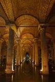 Istanbul, Basilica Cistern Stock Photo