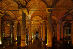 Istanbul, Basilica Cistern Royalty Free Stock Image