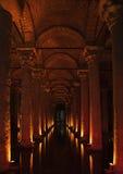 Istanbul-Basilikazisterne Lizenzfreie Stockfotos