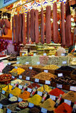 Istanbul Bazaar III. Tea, Spices and sweets in the Egyptian Bazaar of Istanbul Royalty Free Stock Photos