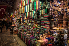 Istanbul - The bazar Stock Images