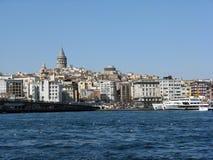 Istanbul. Beautiful Istanbul city and Bosphorus Royalty Free Stock Photos