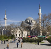 Istanbul - Beyazit Mosque - Turkey. The Beyazit Mosque and Beyazit Square in the city of Istanbul in Turkey Stock Photos