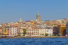 Istanbul Beyoglu district Royalty Free Stock Images