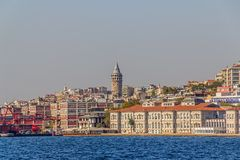 Istanbul Beyoglu district Royalty Free Stock Image