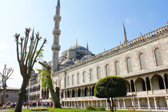 Istanbul big mosk. Stock Photos