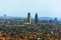 Istanbul from the bird`s-eye view Stock Photo