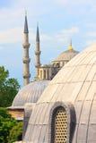 Istanbul-Blau-Moschee stockbild