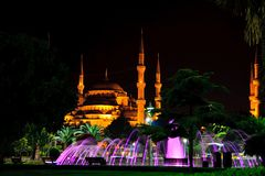 Istanbul Blue Mosque Stock Images