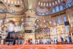 Istanbul Blue mosque Royalty Free Stock Images