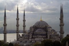 Istanbul. The blue mosque stock photos