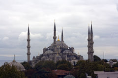 Istanbul blue mosque Sultan Ahmed Stock Photography