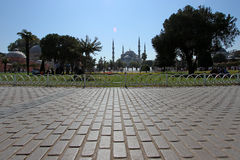 Istanbul,blue mosque Stock Photography