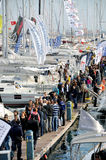 Istanbul Boat Show Stock Images