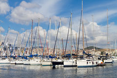 Istanbul Boat Show Royalty Free Stock Photography
