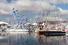 Istanbul Boat Show Stock Photography