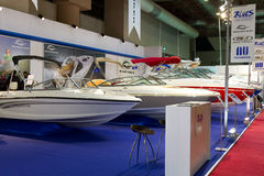 Istanbul Boatshow Royalty Free Stock Photo