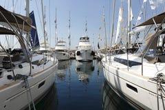 Istanbul boatshow Stock Photos