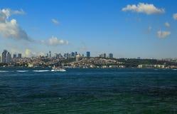 Istanbul Bosphorus Arkivfoton