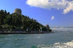 Istanbul Bosphorus Fotografering för Bildbyråer