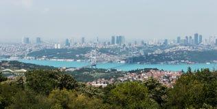 Istanbul Bosphorus Photographie stock libre de droits
