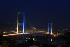 Istanbul Bosphorus Bridge Royalty Free Stock Images