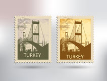 Istanbul and the bosphorus Royalty Free Stock Photos