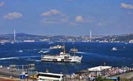 Istanbul Bosphorus Royalty Free Stock Photos