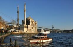Istanbul Bosphorus Royalty Free Stock Photography