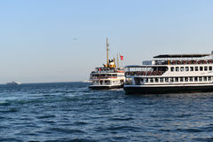 Istanbul bosphorus ship photo stock photos