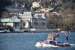 Istanbul the capital of Turkey, eastern tourist city. royalty free stock images