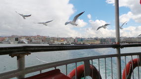 Istanbul bosphorus royalty free stock photos