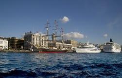 Istanbul Bosphorus Turkiet Royaltyfria Foton