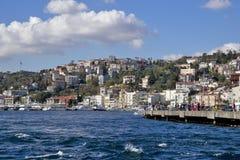 Istanbul Bosphorus, Turkiet Arkivbild