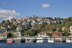 Istanbul Bosphorus, Turkiet Arkivfoton