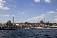 Istanbul Bosphorus, Turkiet Fotografering för Bildbyråer