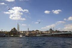 Istanbul Bosphorus, Turkiet Arkivbilder