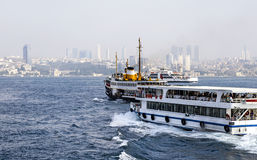 Istanbul, Bosphorus Royalty Free Stock Photo