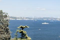 Istanbul Bosphorusen Royaltyfria Bilder