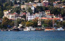 Istanbul on the Bosporus Stock Image