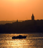Istanbul Bosporus Royalty Free Stock Photo
