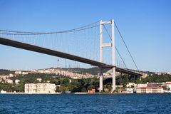 Istanbul Bosporus Bridge Royalty Free Stock Image